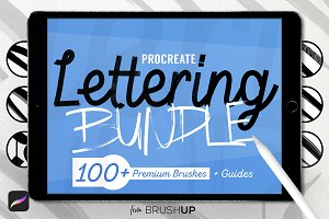 Lettering Bundle for Procreate