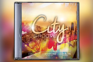 City Groove CD Album Artwork