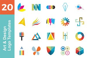 20 Logo Art & Design Bundle