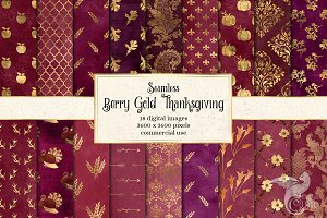 Berry Gold Thanksgiving