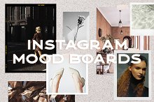Vintage Mood Boards for Instagram by  in Social Media