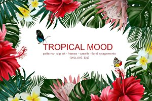 Tropical Mood - floral collection
