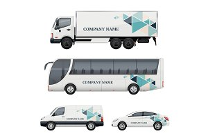 Vehicle branding. Transportation