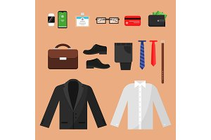 Business clothes. Fashion for office