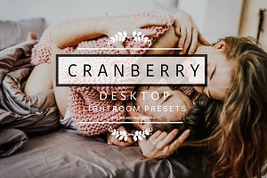 Desktop Lightroom Presets CRANBERRY