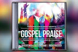 Gospel Praise CD Album Artwork