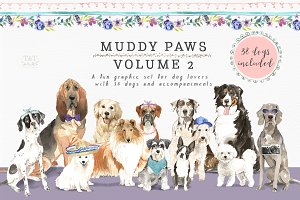 Muddy Paws Volume 2 - Dogs Galore