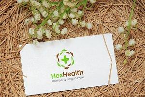 HexHealth - Health Logo