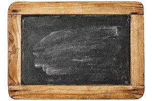 Vintage chalkboard wooden frame