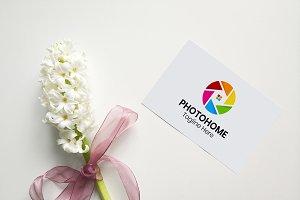 PhotoHome - Photography Logo