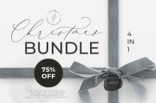 CHRISTMAS BUNDLE: 4 in 1 watercolor