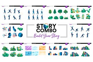 Story Combo - Build Your Story