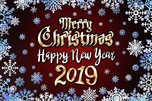 Merry Christmas Happy new year 2019