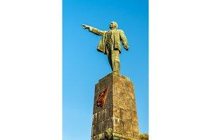 Vladimir Lenin Monument in