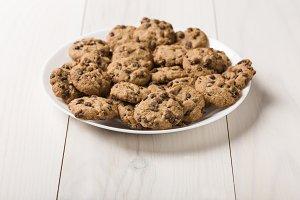 Dish of gluten-free craft biscuits w