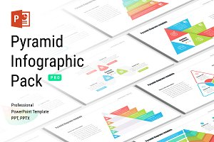 Pyramid infographic PowerPoint