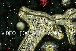 Reindeer illumination and Christmas