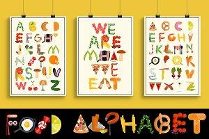 Food Alphabet.