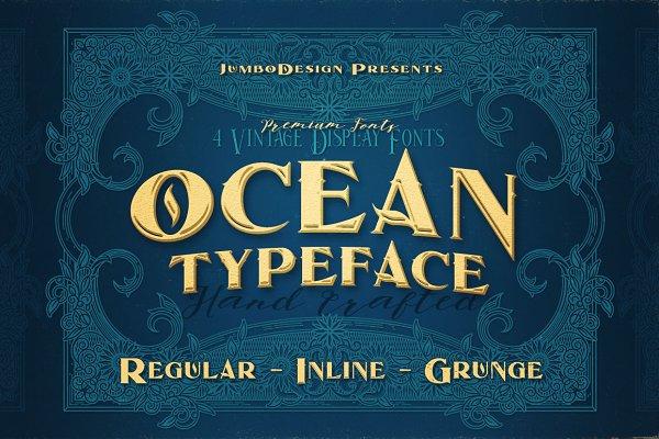 Display Fonts: JumboDesign - Ocean - Display Font