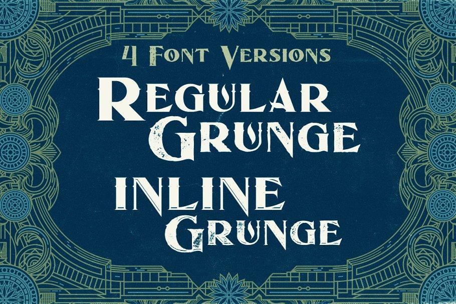 Best Ocean - Display Font Vector