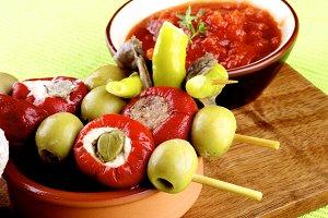 Delicious Spanish Pinchos