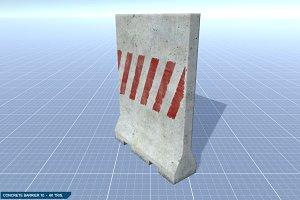 Concrete Barrier #10
