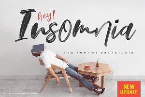 50%OFF   Hey Insomnia SVG Font