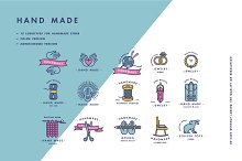 Handmade - logotypes and badges by  in Logos