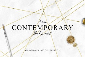 Contemporary Artistic Backgrounds