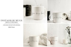 Mug Mock-Ups for Instagram
