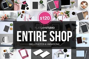 ENTIRE FLAT LAY SHOP SALE ONLY $120