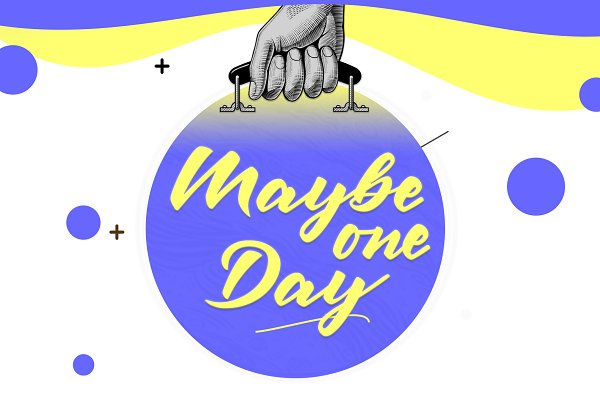 Script Fonts: Herofonts - Maybe one Day™ | Typeface