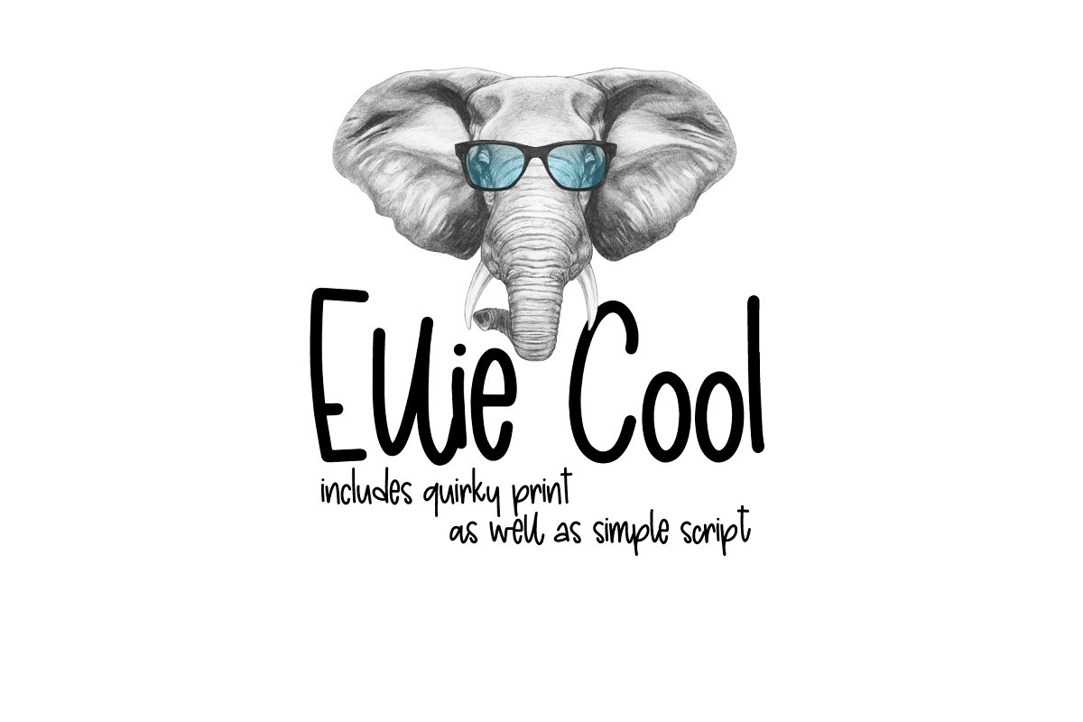 Ellie Cool in Cool Fonts - product preview 8
