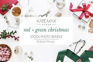Red+Green Christmas Stock Photo Bund