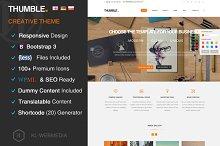Thumble - Creative Wordpress Theme