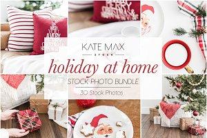 Holiday at Home Stock Photo Bundle