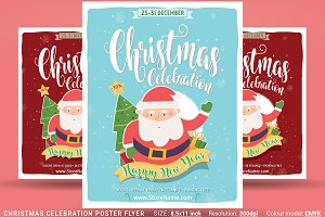 Christmas Celebration Poster Flyer