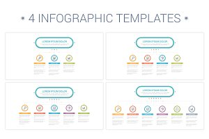 4 Infographic Templates