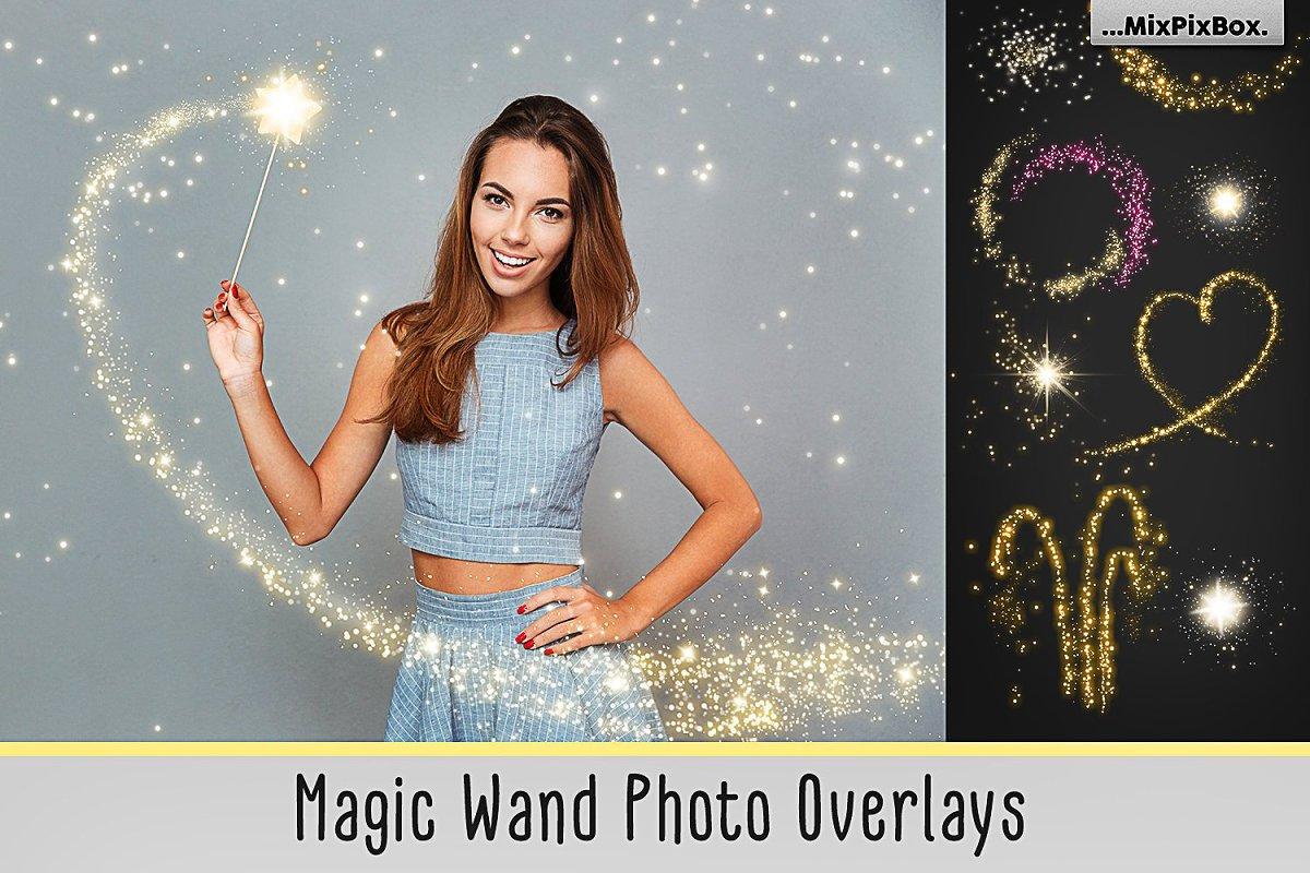 Magic Wand Overlays ~ Photoshop Add-Ons ~ Creative Market