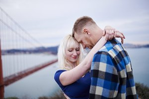 golden gate bridge romance