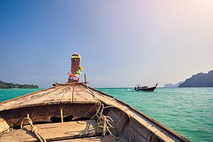 Boat in Thailand Islands