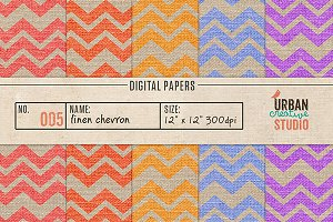 Canvas Linen Digital Papers