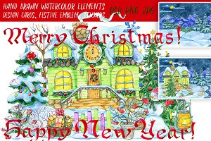 Christmas clipart, part 4