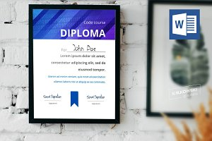 Code Course Diploma Sample