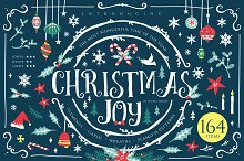 Christmas Joy - X-mas decoration kit by  in Objects