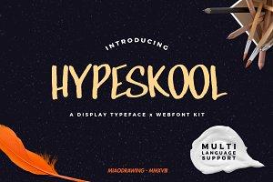 Hypeskool Typeface