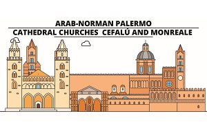 Arab-Norman Palermo - Cathedral