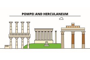 Archaeological Areas Of Pompei
