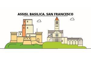 Assisi. Basilica. San Francesco -