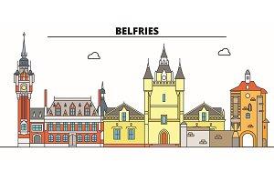 Belfries Of Belgium And France  lin